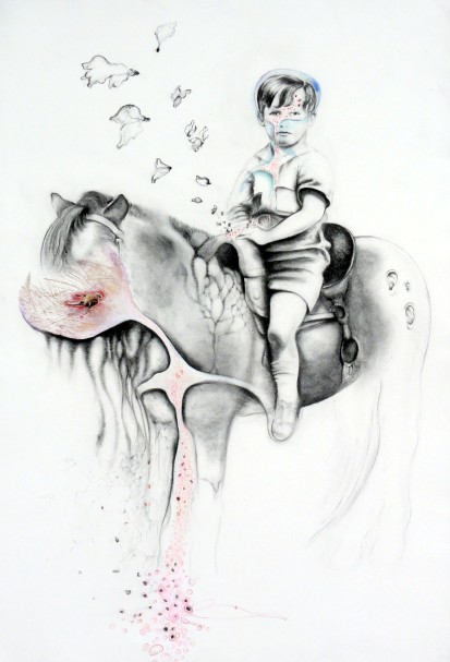 Boys on Horses